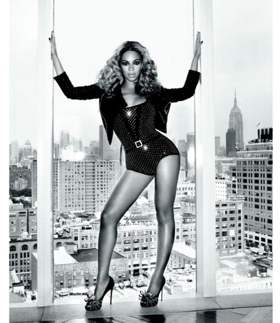 Beyonce. The definition of fierce.