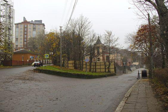 Улица Портовая в городе Пионерский. Фото: Evgenia Shveda
