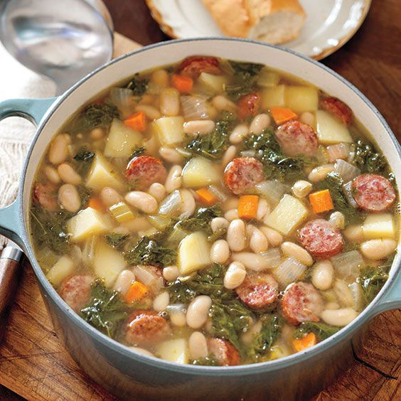 white bean soup white beans kale soups and stews soups sausages beans ...
