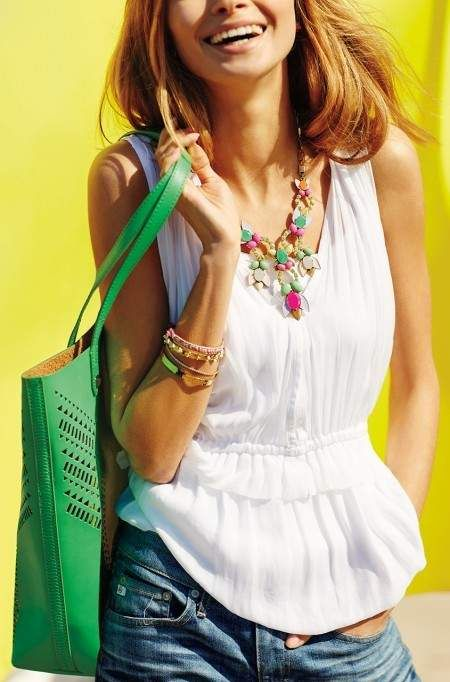 Studded Fillmore Tote Bag For Women | Stella & Dothttp://www.stelladot.com/sites/MicheleAllen  Get the look: