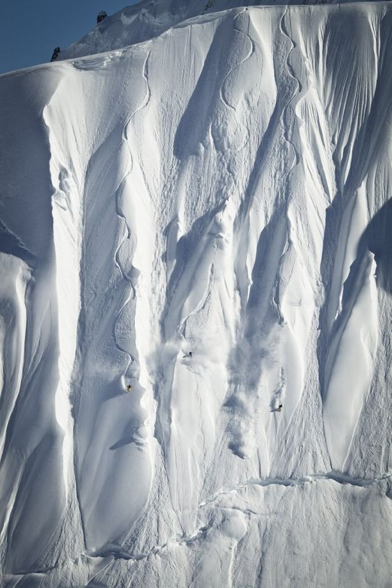 """Still of Travis Rice and Mark Landvik in """"The Art of Flight"""" - A mind blowing movie on Snowboarding"""