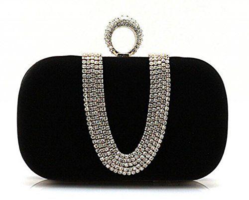 In Offerta! #Offerte Abbigliamento#Buoni Regalo   #Outlet S Lady lusso cristallo di diamante incrostato shell portafoglio sera pochette nero-GZMT13 disponibile su Kellie Shop. Scarpe, borse, accessori, intimo, gioielli e molto altro.. scopri migliaia di articoli firmati con prezzi da 15,00 a 299,00 euro! #kellieshop #borse #scarpe #saldi #abbigliamento #donna #regali