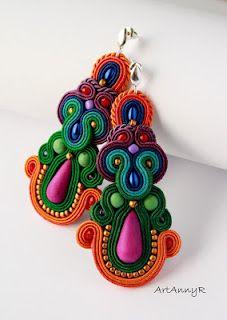 Gorgeous, handmade earrings