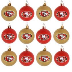 Perfect for Our 49er themed Christmas Tree this Year!