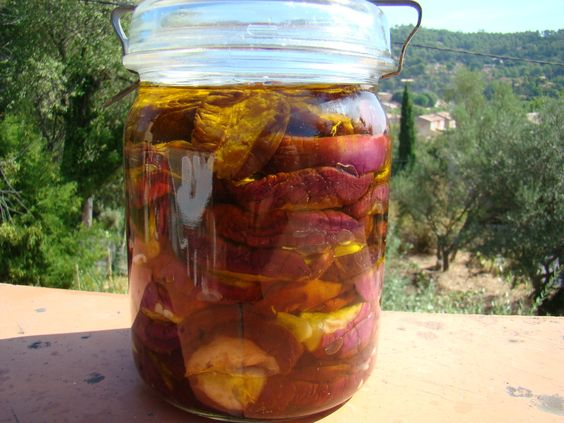 Aubergines au sel et vinaigre, huile d'olive(conserve) - La Cachina