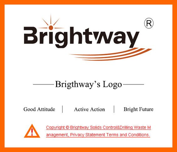 Brightway Logo  Solids Control Equipment    Control System