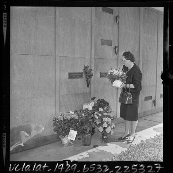 Marilyn Monroe's funeral August 8,1962