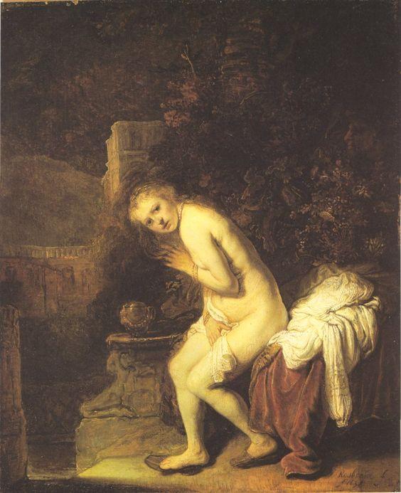 Rembrandt - Susanna Bathing (Apocrypha):