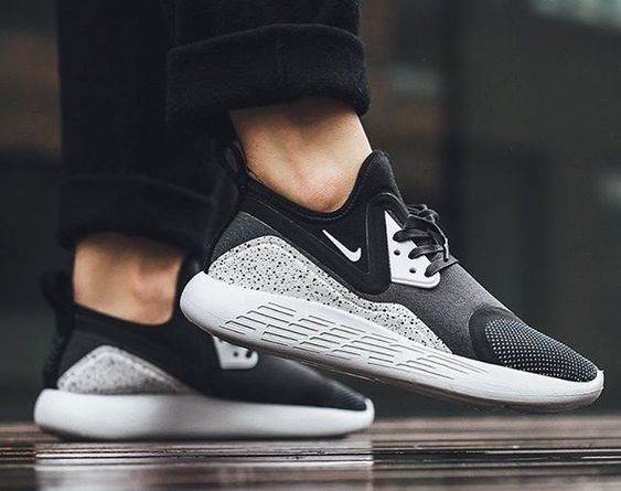 Nike LunarCharge: black/Grey - where to buy mens dress shoes, mens ...