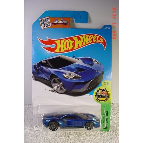 2017 Ford Gt Blue Met Pr5 1 64 73 2016 Hot Wheels Bp