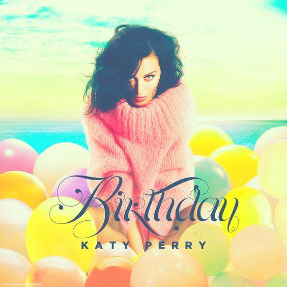 Katy Perry – Birthday (single cover art)