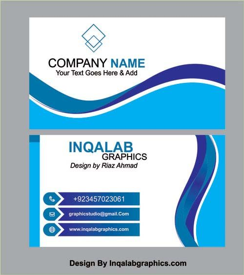 Business Card Templates Vector Coreldraw Design Cdr File Free
