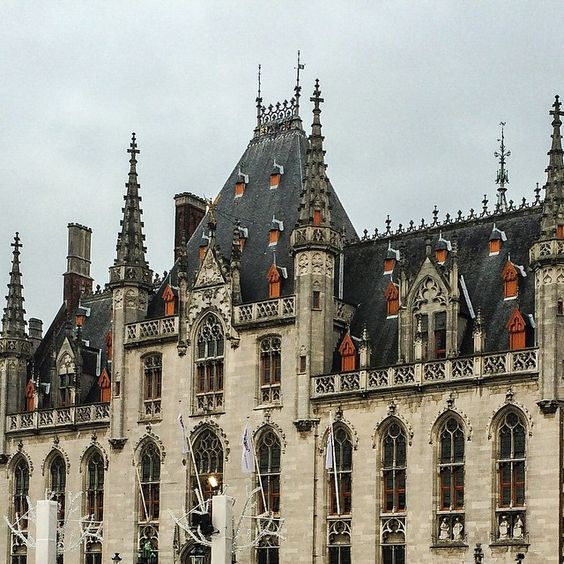 #Gothic #Brugge town hall. There is something about old #architecture that inspires a great deal of awe. #explore #travel #nomadspirit #europe #wanderlust  #travel #travelbug #wanderlust #nomadspirit #explore #Europe #adventurer #adventures #adventuretime #citybreak #cityscape #building #seeing #experiencing #living #travelwithme #wanderer #explore #travelblog #travelphotography #capturethemoment
