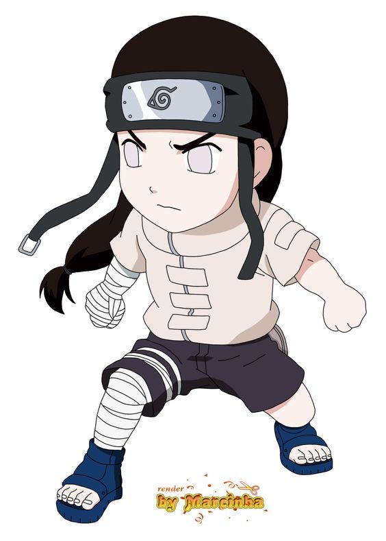 Render Chibi Neji By Marcinha20 On Deviantart Chibi Naruto Characters Chibi Anime Chibi