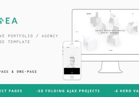 Ourea v1.0 - Creative Portfolio / Agency Template