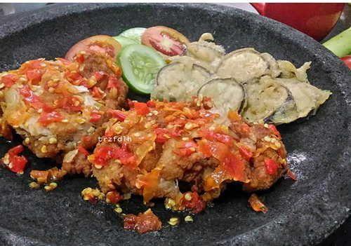 Resep Membuat Sambal Geprek Sambal Food Indonesian Food
