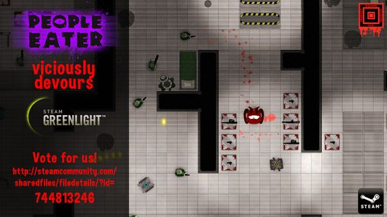 Vote YES! People Eater #game on #steam http://steamcommunity.com/sharedfiles/filedetails/?id=744813246 #gamedev #indiedev #indie #indiegame…