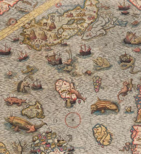 Sea Monsters on Medieval and Renaissance Maps: Chet Van Duzer: 9780712358903: Amazon.com: Books
