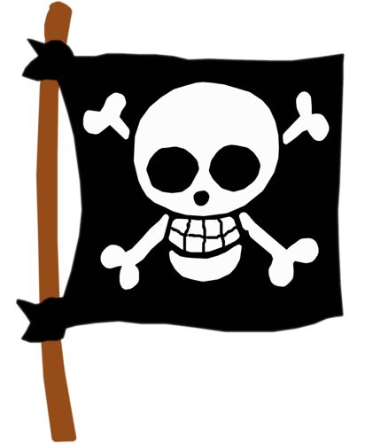 clipart pirate flag - photo #18