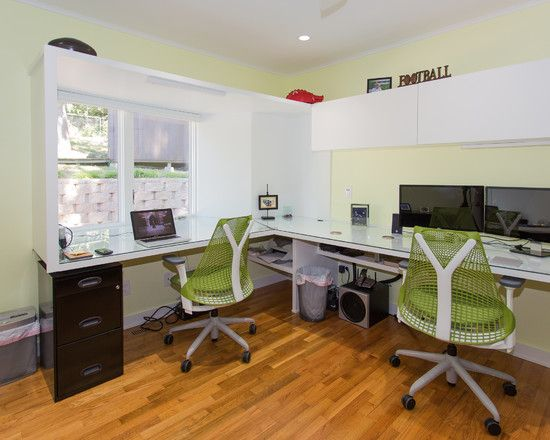 amazing modern home office design with beautiful custom double desk and lovely natural color design beautiful contemporary home office furniture
