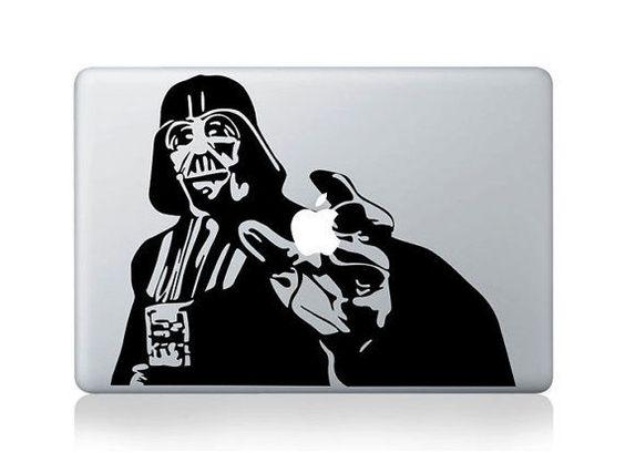 Adesivo Macbook Darth Vader - 25MAC -FRETE GRÁTIS -  iproducts
