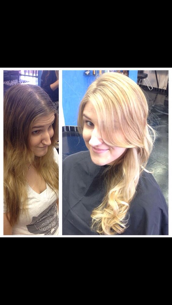 LOreal Professionnel artist Corene Hess at Capello Salon ammonia free balayage blonde highlights