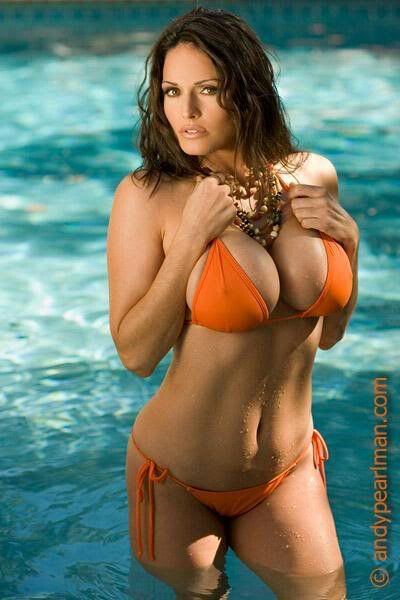 Most Kellie maines bikini the shape her