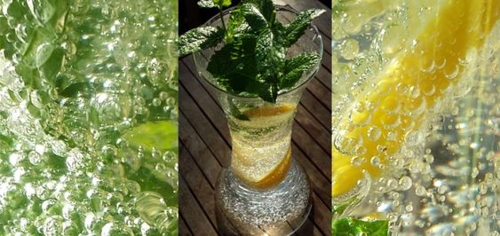 Erfrischung bei Sommerhitze
