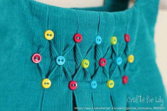 Складочки как украшение одежды   Наш дом