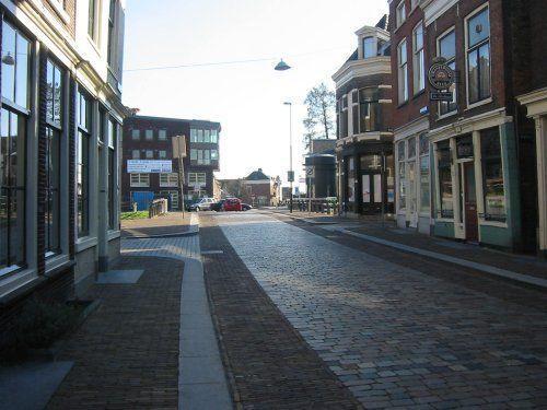 Dordrecht<br />Dordrecht Sluisbrug vanaf Prinsenstraat