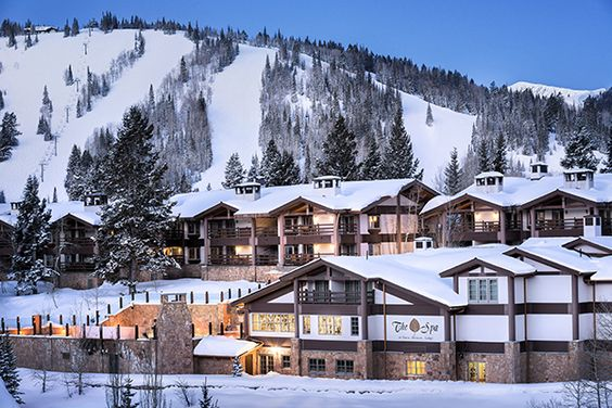 Great Ski Resort Spas | @Stein Eriksen Lodge Deer Valley | Organic Spa Magazine