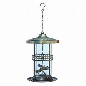 Iron/Metal Bird Feeder, Measures 18x35cm
