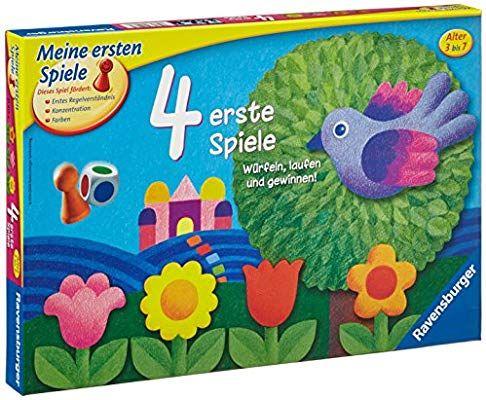 Ravensburger 21417 4 Erste Spiele Amazon De Spielzeug 4 Erste Spiele Gesellschaftsspiele Fur Kinder Kinderspiele