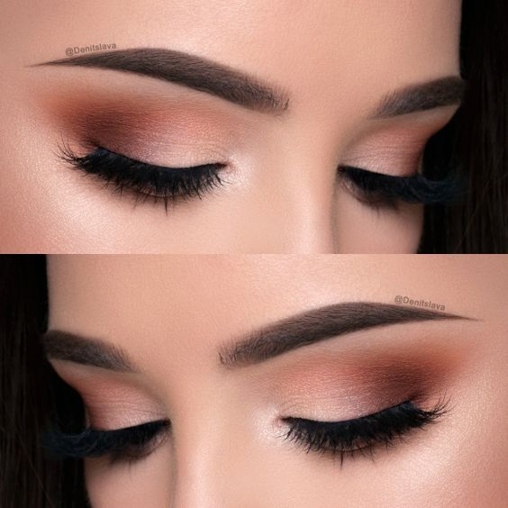 Bros wedding makeup idea. Check out our favorite Soft No Eyeliner Makeup Look inspired makeup look. Embrace your cosmetic addition at MakeupGeek.com!