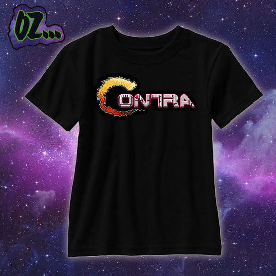 Check out this item in my Etsy shop https://www.etsy.com/listing/224447411/sale-retro-8-bit-nintendo-contra-shirt