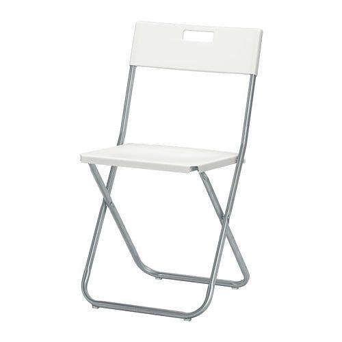 Gunde Folding Chair White Ikea Folding Chairs Folding Chair