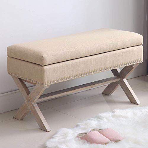 Amazon Com Fabric Storage Bedroom Bench Seat For End Of Bed Upholstered 36 Inch Entryway Ben Bedroom Bench Bedroom Bench Seat Stylish Bedroom