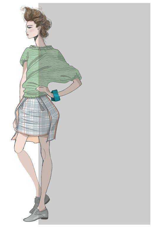 fashionillustr.quenalbertini: JAA Original Fashion Illustr.