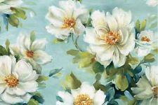Lisa Audit: Reflections I Crop Fertig-Bild 60x90 Wandbild Blumen Frühling Garten