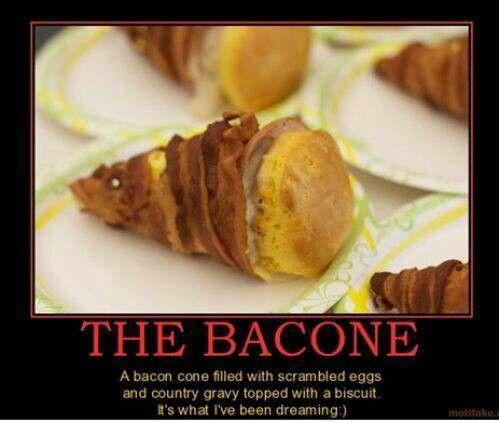 Bacon foodgasm.