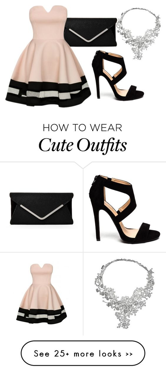 """first new outfit with cute dress"" by vintage-floral23 on Polyvore:"
