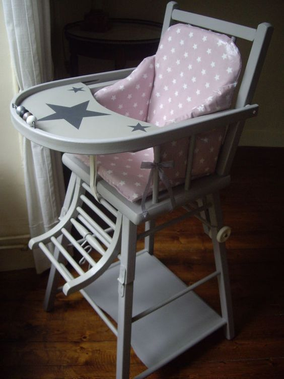 Vintage on pinterest for Chaise haute babybjorn