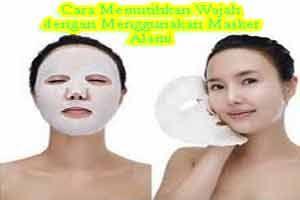 Selain menggunakan produk kecantikan salah satu tips yang tepat untuk cara memutihkan wajah adalah dengan menggunakan masker alami, karena dengan hal ini wajah anda akan langsung berinteraksi dengan kandungan vitamin yang terdapat dari bahan yang dijadikan masker tersebut