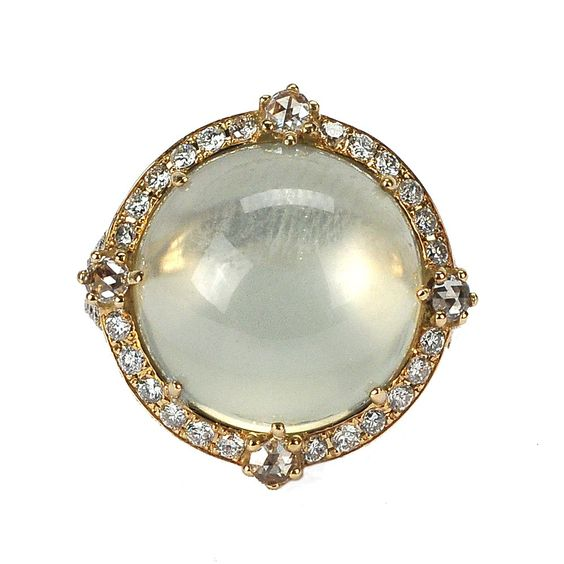 Moody Moonstone Ring - Nam Cho Ring | Fragments