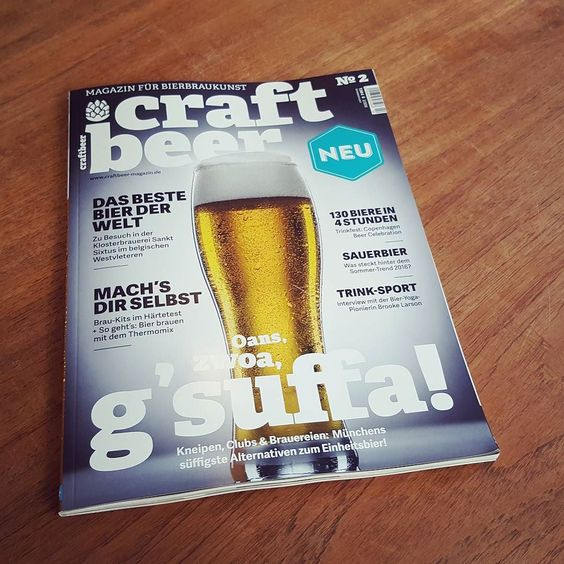 Die neue Ausgabe ist da #craftbeer #magazin #magazine #craftbeermagazin #kiel #falkemedia