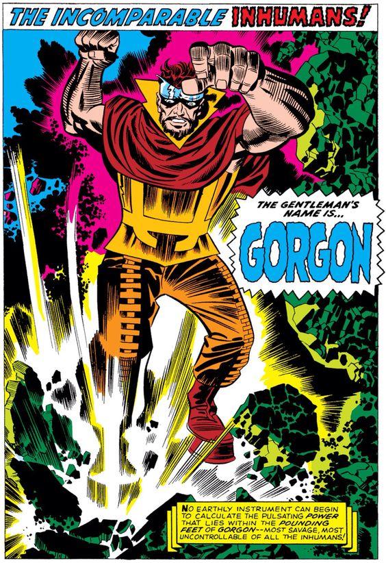 Gorgon Jack Kirby Kirby Jack Kirby Art