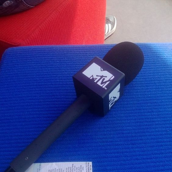 Runner for MTV at Wireless Festival 2013 #music #live #intern #interview #microphone #production