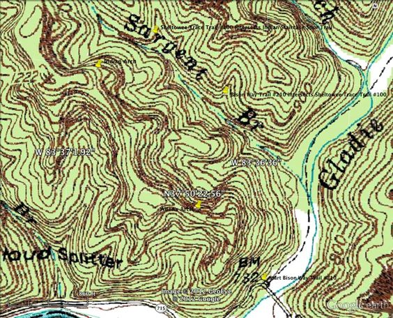 Indian Staircase Map