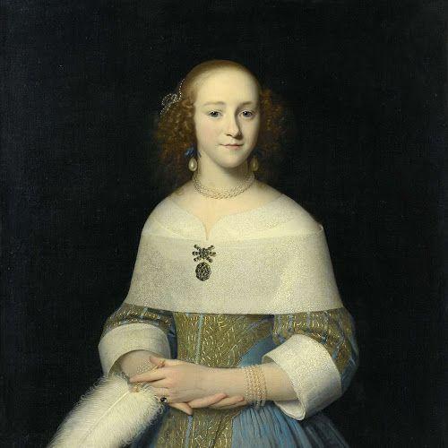 Portret van een jonge vrouw, Isaack Luttichuys, 1656 - Rijksmuseum