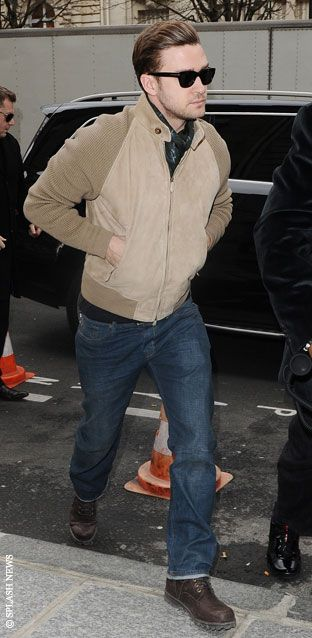 Justin Timberlake, I love his New hair style